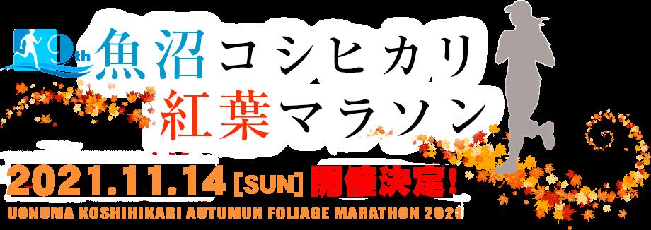 魚沼コシヒカリ紅葉マラソン2018
